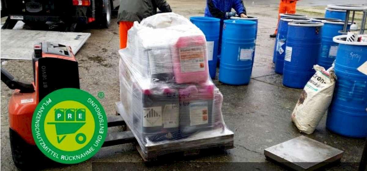 PRE-System: Pflanzenschutzmittel fachgerecht entsorgen